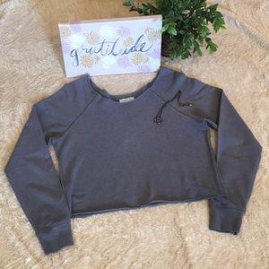💖Cropped Sweatshirt by I LOVE H81